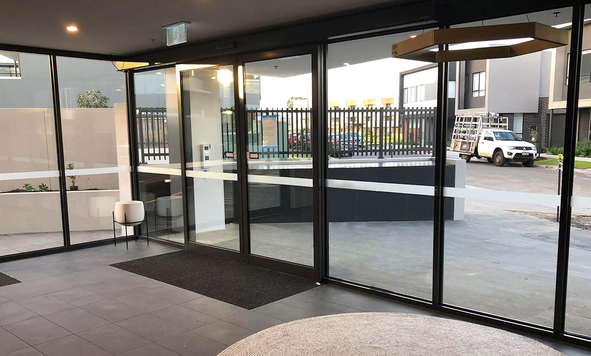 Aluminium Frame Glass Doors