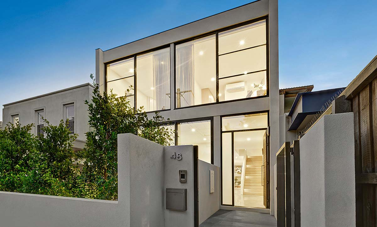 fixed aluminium windows melbourne