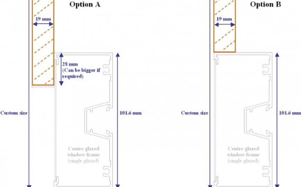 U channel sill in floor gap