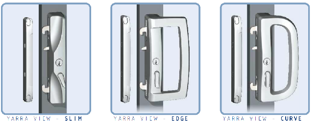 sliding door handles